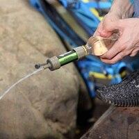 Schwerkraft Wasser Filter Camping Wandern Zubehör-in Sicherheit und Überleben aus Sport und Unterhaltung bei
