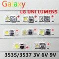 Светодиодная подсветка для LG UNI LUMENS SAMSUNG, 50-100 шт., 1 Вт, 3 в, 2 Вт, 6 в, 3535, 2,4 Вт