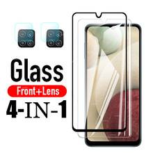 Glass on For Samsung Galaxy A12 Tempered Glass For Galaxy A12 SM-A125F/DSN SM-A125F/DS Screen Protector Phone Film A125 6.5