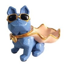 Home Decor French Bulldog Crafts Key Plat Ornaments Nordic Creative Animal Resin Decoration  Home fr0338 plat