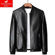 SHABIQI Jacket Men Coats M-8XL PLUS SIZE  Brand High Quality PU Outerwear Business Winter Faux Fur Male Fleece