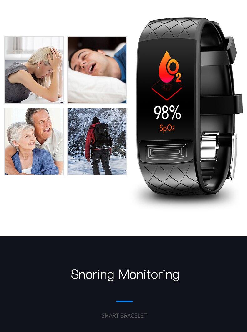 atividade rastreador de fitness eletrônica pulseira