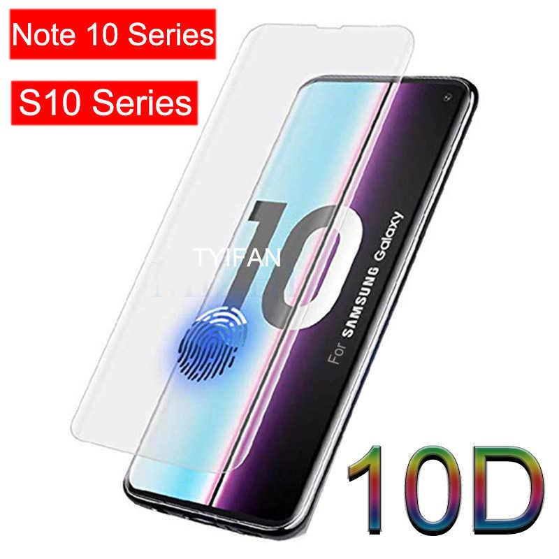 Verre de protection pour Samsung Note 10 Plus verre trempé sur Galaxy S10 Plus S10e protecteur d'écran sécurité Junsun S 10 E non Note10