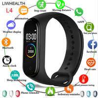 Nouveau bracelet de Montre intelligente hommes/femmes/enfants Smartwatch Reloj étape HR Montre connecter pour Apple/Xiao mi/Huawei PK mi bande 3/4 VS IWO 8/B57