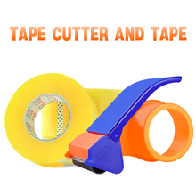 Tape Cutter and Tape Manual Packing Machine Tape Sealing Tape Transparent Large Volume 4.5 Width 5.5 deli sealing packer tape dispenser capable 6cm width sealing tape holder with cutter manual packing machine papelaria