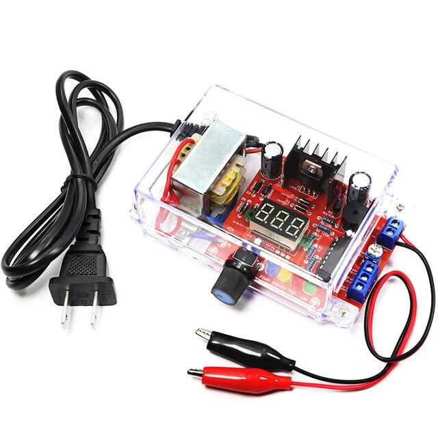 DIY ชุด US Plug 110V DIY LM317 ชุดกรณี