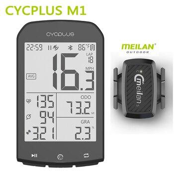 Cycplus m1 bicicleta gps computador velocidade do computador sem fio ciclismo computador cronômetro