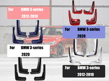 Mud flaps For BMW 3-series F30/F31 G20 mudguards Front Mud-Flaps Mud-guards splash guards car accessories auto styling 2012-2020