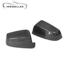 цена на E60 Carbon Fiber Front Side Mirror Cover Cap Trim for BMW E60 5 Series 520i 523i 530i 535i 520d 525d 530d 535d GT 2008 - 2010