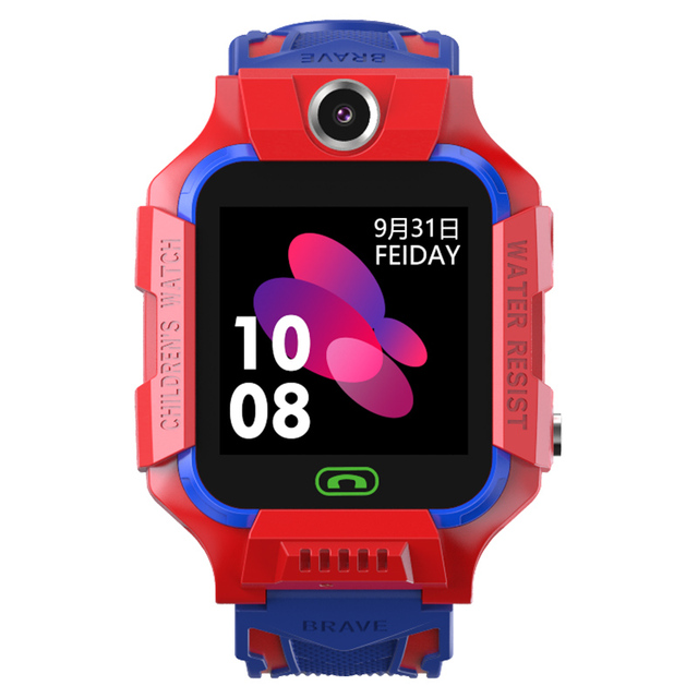 S19 Waterproof Smart Watch for Kids LBS Tracker SmartWatch SOS Call for Children Anti Lost Monitor Baby Wristwatch for Boy girls 4