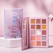Palette de fards à paupières 15 couleurs, paillettes de voyage, pigments pour les Yeux, Fard à paupières, Maquillage Oogschaduw, nouvelle collection