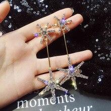 цены Fashion Hollow Flower Gold Color Leaf Drop Dangling Earrings pendientes Jewelry Wedding Bridal Tassel Long Earrings for women