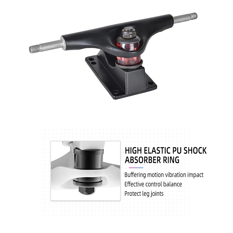 MS504 68cm 26in FishBoards 28in Russia Maple 65 45 pu wheel Chrome Steel Bearing Strong 5inch Alumium Fish Board in Skate Board from Sports Entertainment