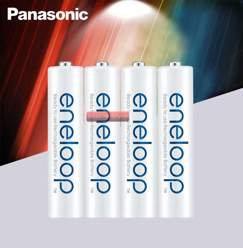 Panasonic 100% original 1.2 v 800 mah aaa bateria recarregável para brinquedos de controle remoto ni-mh bateria pré-carregada 2100 vezes