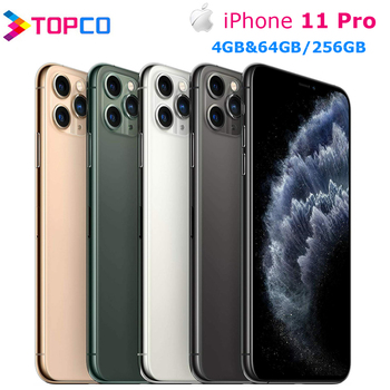 "Genuine Original Apple iPhone 11 Pro 5.8"" 4G LTE 4GB&64/256/512GB A13 Bionic Hexa Core IOS Triple rear cameras 12MP Cell Phone 1"