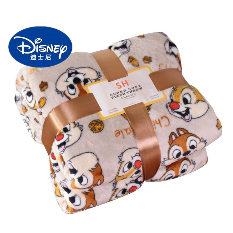 Disney Private Pluto Chip N Dale Lightweight Plush Queen Size Blanket On Bed / Sofa / Plane Flatsheet Bedding Throw Baby Blanket