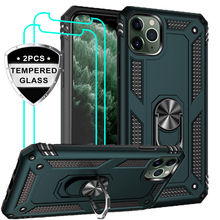 Luxury Armor Shockproof Phone Case For iphone 5 5S SE XS Max 11 Pro XR X 7 8 6 6s Plus Full Cover Car Magnetic Ring Bumper Cases genuine leather phone case for iphone 11 11 pro max x xs max xr 7 8 plus 6 6s 7 plus se 2020 5s magnetic kickstand luxury cover