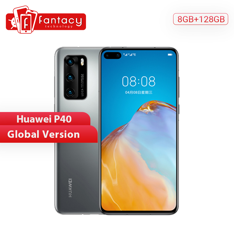 Global Version Huawei P40 5G Smartphone Kirin 990 8GB 128GB 50MP Ultra Version Camera 6.1 Inch SuperCharge NFC
