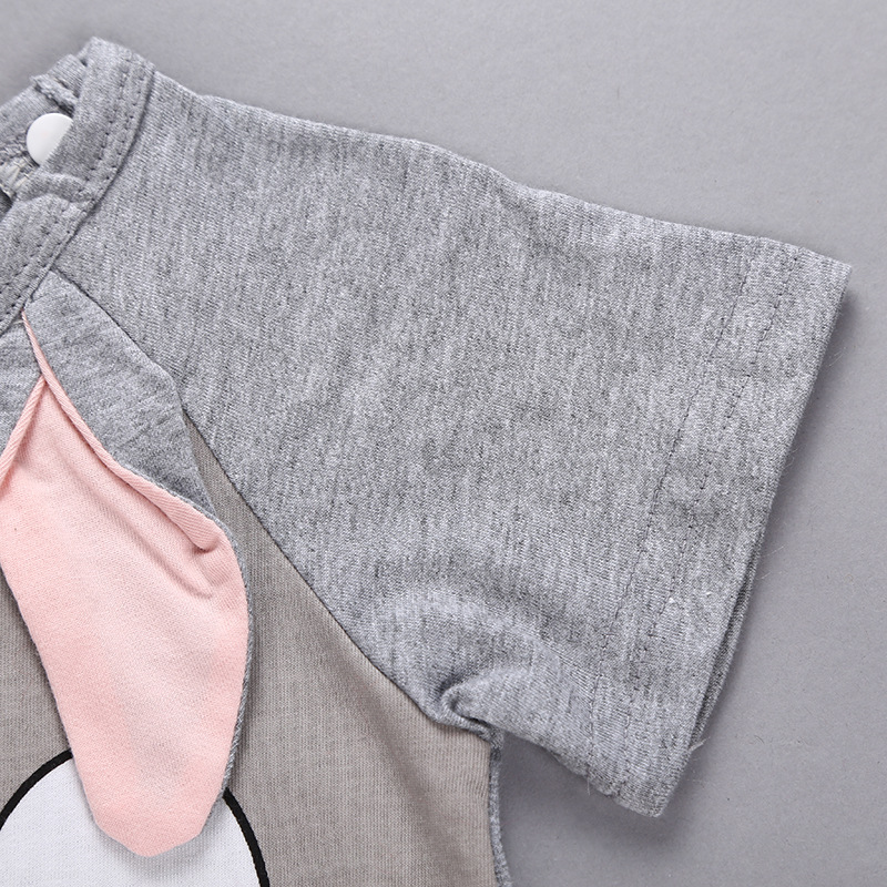Hac13a9bd5a8d4452a450e4e9c05bc8bcJ Newborn baby cotton rompers lovely Rabbit ears baby boy girls short sleeve baby costume Jumpsuits Roupas Bebes Infant Clothes