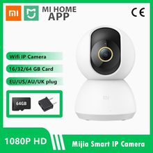 IP-камера Xiaomi Mijia для системы видеонаблюдения, 1296P, 2K, угол обзора 360 градусов, Wi-Fi, ночное видение