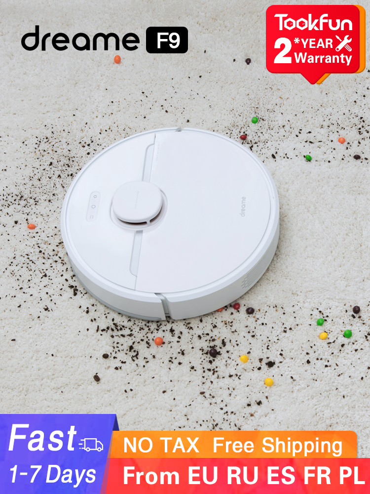 Dreame D9 Robot Vacuum Cleaner for home Sweeping Washing Mopping 3000PA cyclone Suction