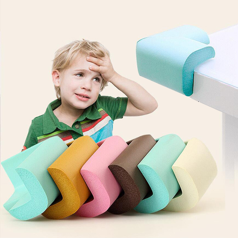 8pcs/set Baby Safety Corner Corner Table Protector Urniture Corners Angle Protection Child Safety Tape Edge Corner Guards
