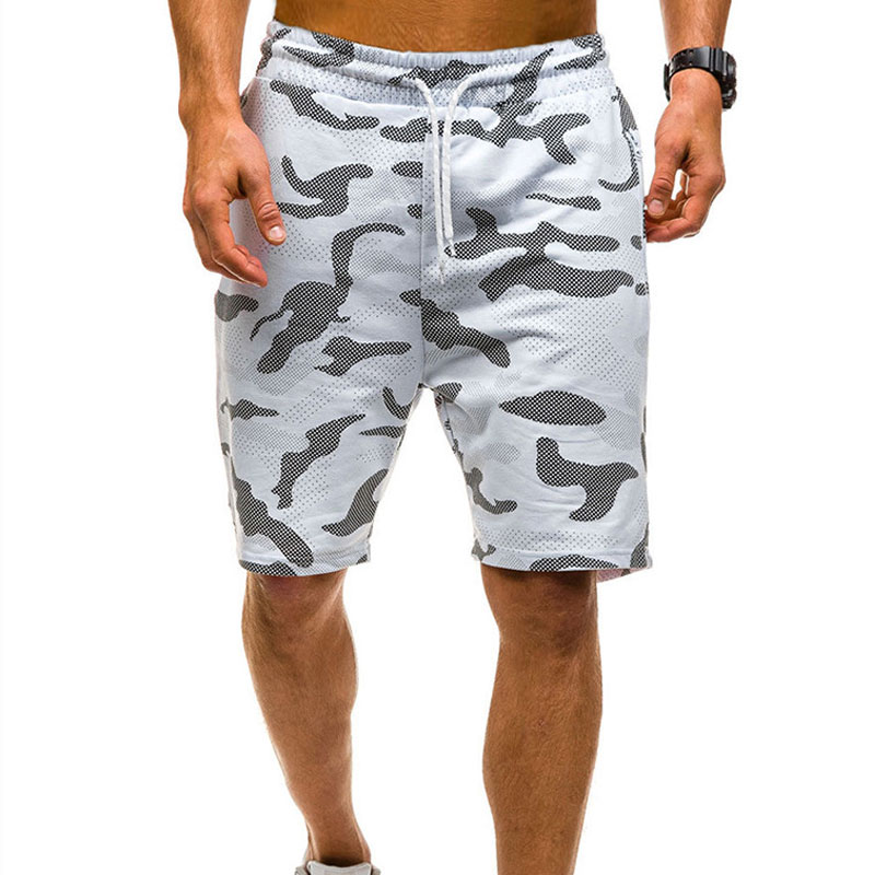 New Men Camouflage Shorts Casual Male Hot Sale Military Cargo Shorts Knee Length Mens Summer Short Pants Homme 2020