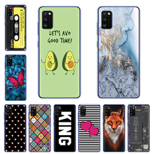 For Samsung Galaxy A41 Case Silicon Soft TPU Back cover For Samsung A41 A514 SM-A415fzwmser A 41 6.1 inch Coque Fundas Etui Capa