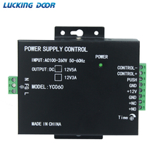 Mini Power Versorgung Tür RFID Fingerprint Access Control Lieferant Adapter Convertor System Maschine DC 12V 3A 5A AC 100 ~ 260V