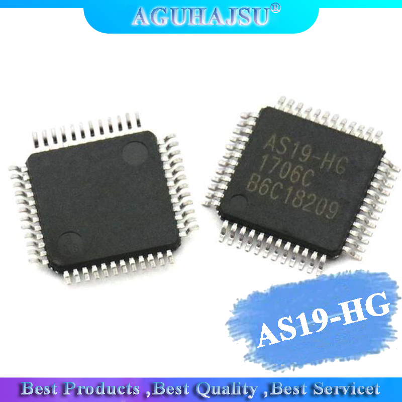 1PCS AS19-HG QFP48 AS19 QFP AS19-H1G QFP-48
