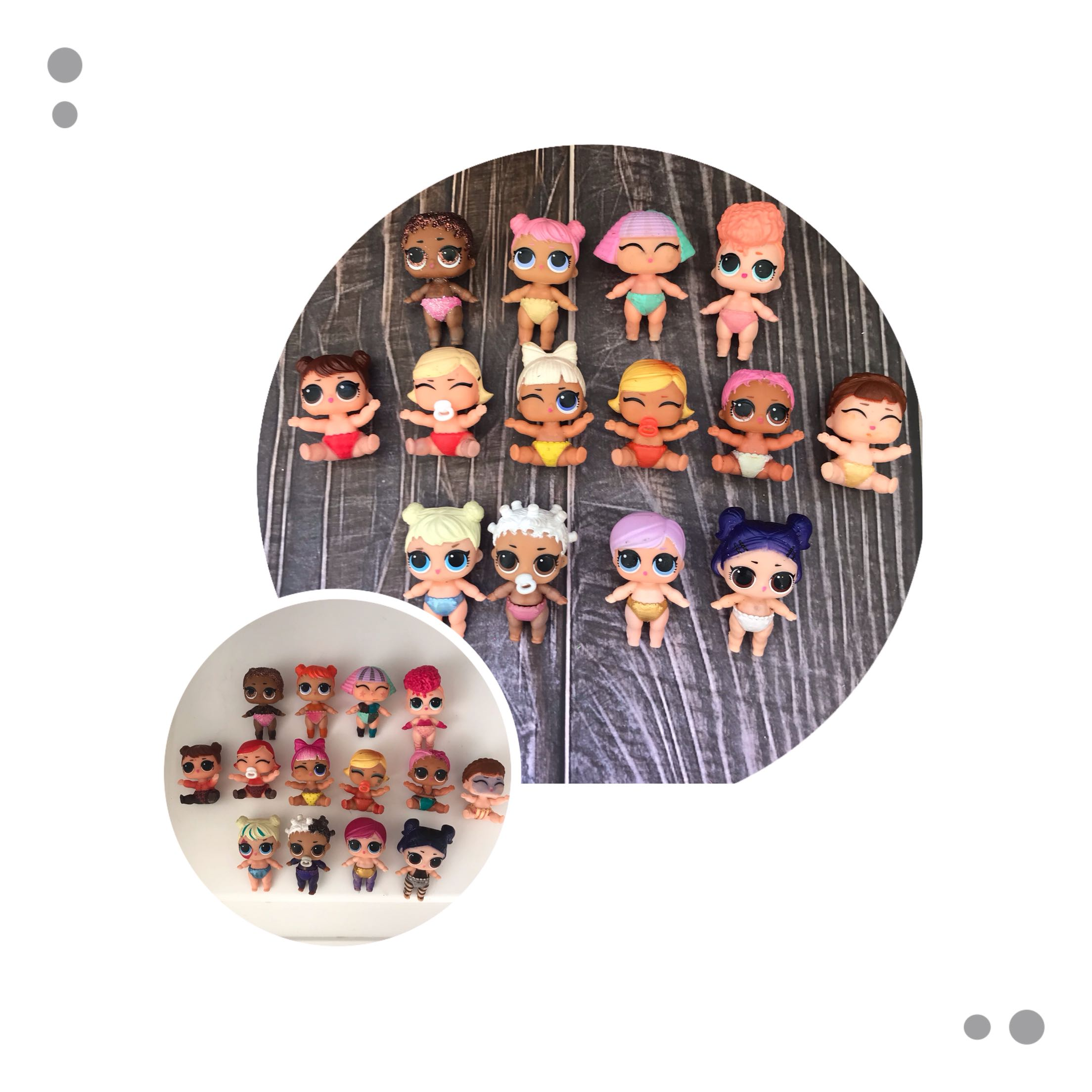 LOL Doll Surprise Original Cute Mini Surprise Little Sister Cold Discoloration Children's Toys Dolls Girl Gift