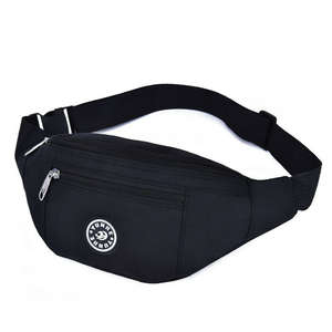 Wallet Belt Waist-Bum-Bag Fanny-Pack Money-Pouch Travel Women Hiking-Bag Black New-Fashion