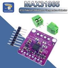 Placa convertidora MAX31865 PT100 a PT1000, módulo amplificador de Sensor termopar de temperatura, 3,3 V/5V para Arduino