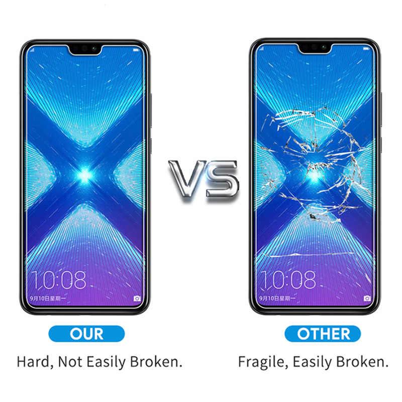 الهاتف الذكي الزجاج واقية ل الشرف 8X تشديد الهاتف الأمامي فيلم الزجاج المقسى لهواوي الشرف 8X ماكس 8 X عرض 10 لايت الزجاج