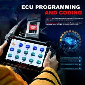 Image 4 - MaxiCOM MK908P OBD2 MS908P Car Automotive Ferramenta de Diagnóstico Scanner Autel Maxisys Programador ECU Codificação programação J2534 PK Elite