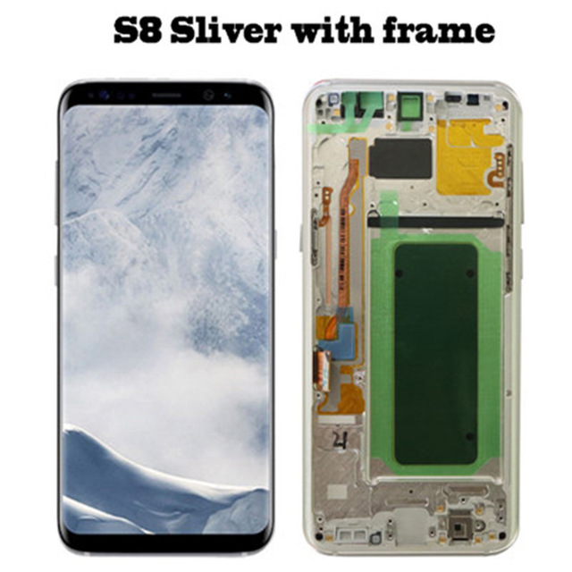 S8 silver Frame