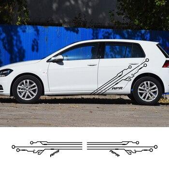 Etiqueta engomada del coche para Mercedes GLA GLB GLC BMW X1 X3...