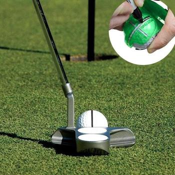 Golf Line Drawing Golf Line Clamp Golf Mark Template Drawing Ball Tool Transparent Line Shell Scribe Golf Equipment image