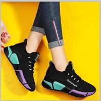חדש אישה ריצה נעלי נשים לנשימה ספורט נעלי קיץ ריצה רשת נעלי ספורט נשי מזדמן חיצוני מאמני Zapatos Mujer-בנעלי ריצה מתוך ספורט ובידור באתר