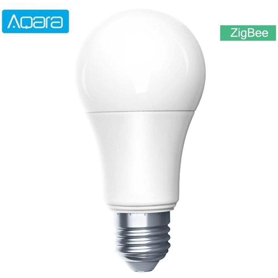 Aqara inteligente lâmpada led zigbee 9w e27 2700k-6500k cor branca inteligente remoto lâmpada led para xiaomi casa inteligente mihome homekit