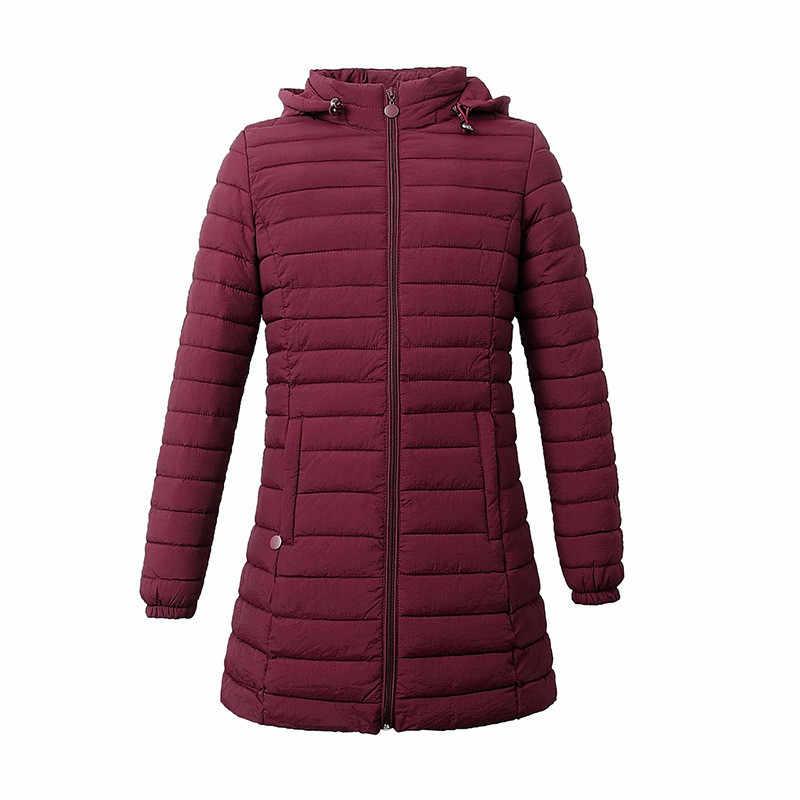 Women Winter Coat 2019 Plus Size Long Coat Thicken Korean Warm Down Jacket Ultra Light Goose Down Jacket Women Long Down Coat