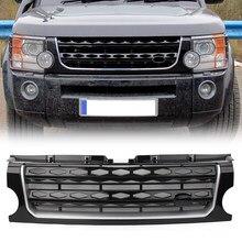 Grilles pour capot de voiture pour Land Rover L319 Discovery 3 LR3, grilles de course avant en plastique ABS, 2005, 2006, 2007, 2008, 2009