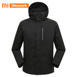 Мужская куртка из софтшелла Xiaomi, водонепроницаемая и ветрозащитная куртка для активного отдыха, походов и скалолазания, 117419015