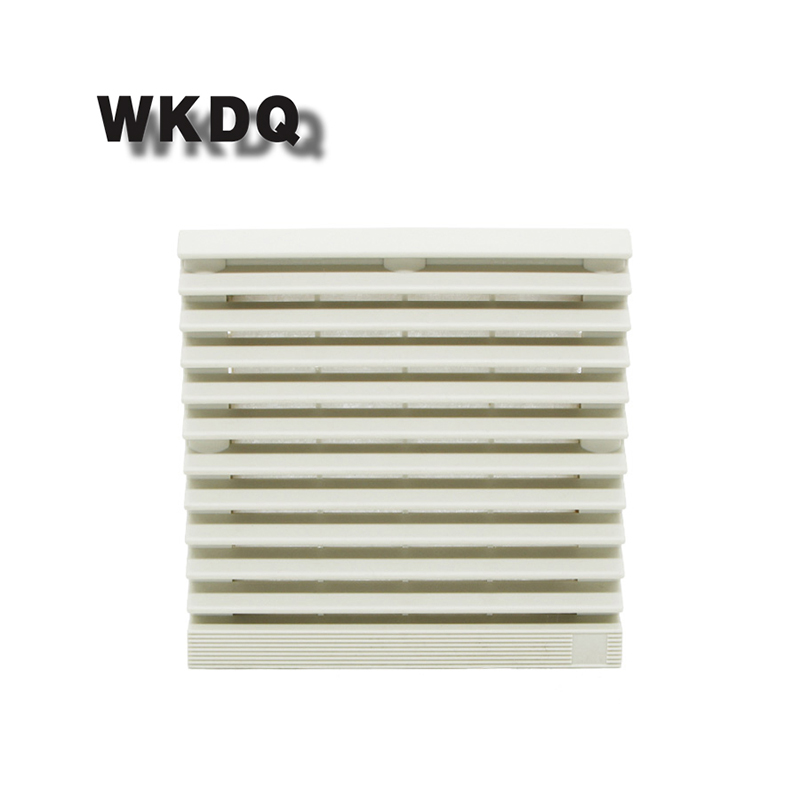 FK-9804-300 Cabinet  Ventilation Filter Set Shutters Cover  Fan Waterproof Grille Louvers Blower Exhaust Filter Without Fan
