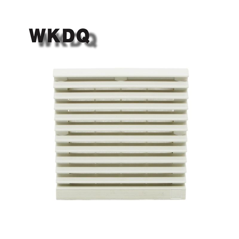FK-9804-300 Cabinet  Ventilation Filter Set Shutters Cover  Fan Waterproof Grille Louvers Blower Exhaust Filter Without Fan