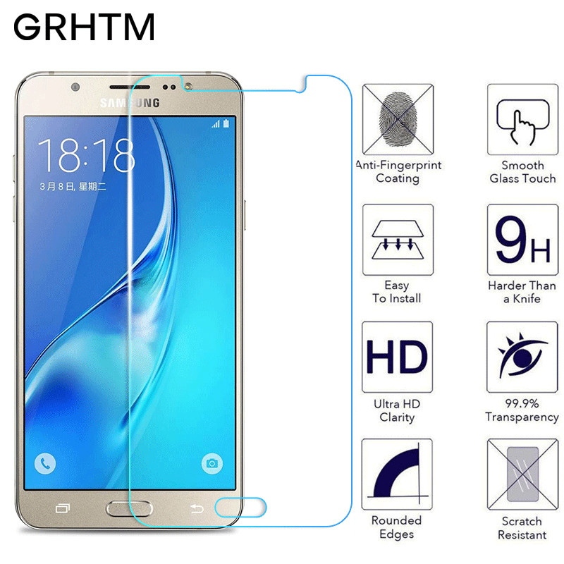 מזג זכוכית עבור Samsung Galaxy J3 J5 J7 J1 A5 A3 A7 2015 2016 A8 A9 A6 בתוספת 2018 2017 מסך מגן מגן זכוכית סרט