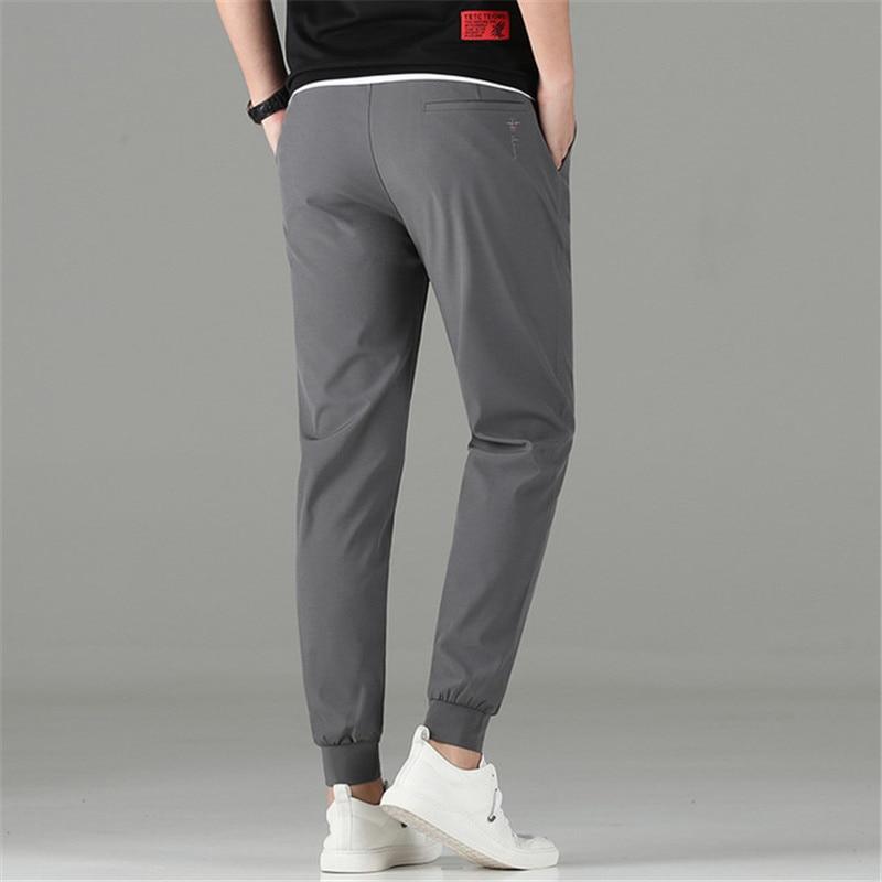 Little Rain 2020 Summer Men's Hip Hop Pants Trousers Thin Breathable Lightweight Joggers Men Small Feet Male Pencil Pants