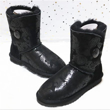 Fashion New Arrival Real Sheepskin 2020 Woman Winter Classic Snow Boots Genuine Sheepskin