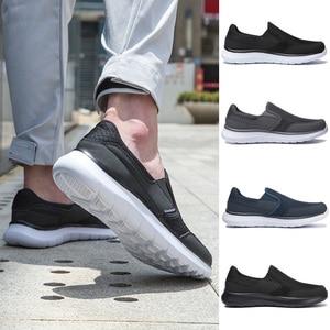 Image 5 - Zapatos de marca para hombre, zapatillas ligeras y transpirables, calzado masculino de alta calidad, zapatos informales de talla grande 49 50