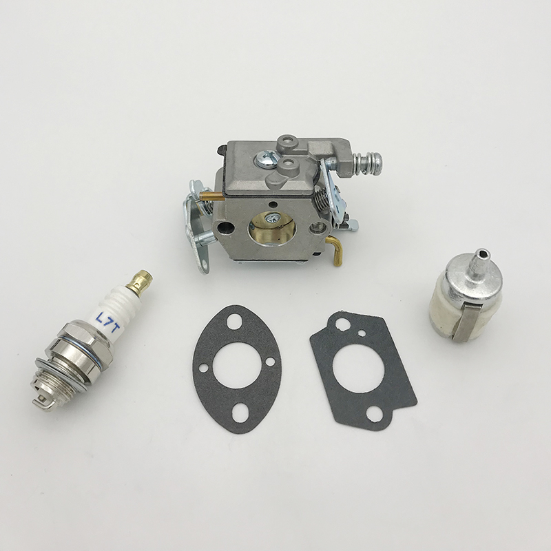 Carburetor Carb Fuel Filter Gasket Kit For Partner 350 351 Mcculloch Mac 335 435 440 Chainsaw Replacement Parts Walbro 33-29